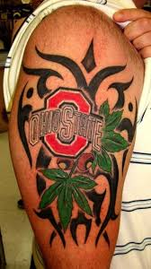 ohio state buckeye tattoo vbe summertime pinterest ohio