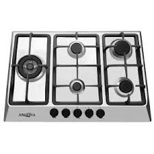 30 Inch 5 Burner Gas Cooktop Ancona 30 In Gas Cooktop In Stainless Steel With 5 Burners