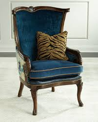 massoud dominique wing chair