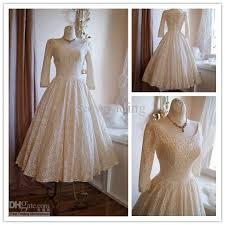 discount actual images vintage 50s wedding dresses poland style