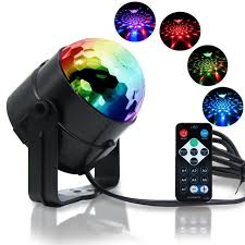 sound activated dj lights party lights disco ball dj lights 3w rgb light sound activated dance