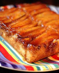 fat recipes banana upside down cake