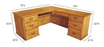 wood l l shape office desk wood l shape desk pine wood l shape desk