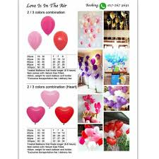 helium balloon delivery in selangor helium balloon delivery birthday heart to heart florist