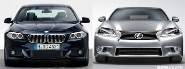 lexus gs 350 redesign photo comparison bmw 5 series vs 2013 lexus gs 350