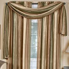Window Covering Options by Curtain Scarf Window Treatments Ideas