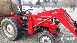 massey ferguson 240 cold start youtube