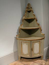 18th century swedish petite corner cupboard furniture
