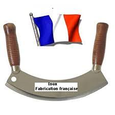 hachoir de cuisine couteau hachoir berceuse professionnel inox amazon fr