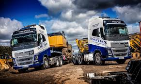 volvo heavy haulage trucks for sale smiths of gloucester takes delivery of two volvo fh16 750s