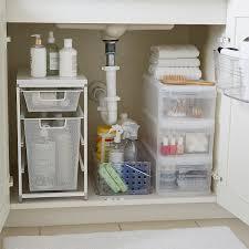 kitchen sink cabinet caddy bathroom sink starter kit