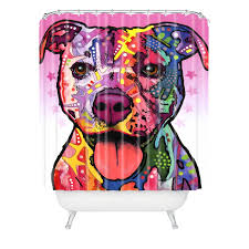 pitbull shower curtain promotion shop for promotional pitbull