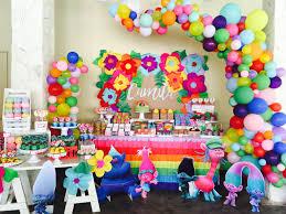 funniest trolls party fiesta de trolls trolls candy bar mesa de