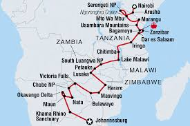 Kenya Blank Map by Zimbabwe Tours U0026 Travel Intrepid Travel Us