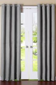 Grey Faux Suede Curtains Details About Handmade Light Silvergray Blackout Single Curtain