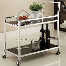 metal serving cart ebay