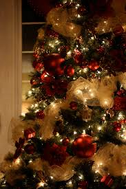 collection christmas tree with ribbon decorating ideas pictures