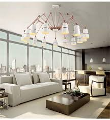 Chandelier Creative Modern Spider Chandelier Creative Felxible Light Rose Gold Gold