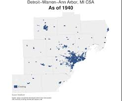 Defiance Ohio Map by Has The Expansion Of American Cities Slowed Down