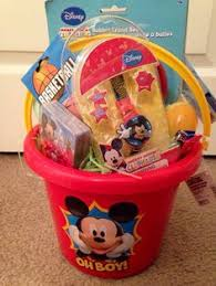 personalized mickey mouse easter basket toddler boy easter basket idea dollar tree hoppy easter