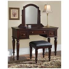 Bedroom Vanity Table Bathroom Elegant Wood Vanity Table Espresso Finish With Drawers