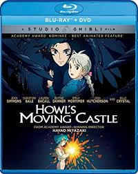 ghibli film express amazon com howl s moving castle blu ray christian bale jean