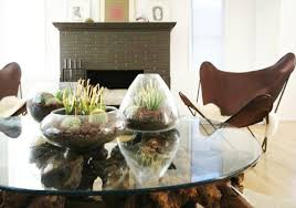 everyday table centerpiece ideas for home decor 20 ideas for home decorating with glass plant terrariums unique eco