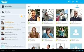 skype android app skype overhauls android app with tablet ui microsoft logins