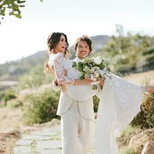 his and wedding ian somerhalder gushes his wedding to reed brides