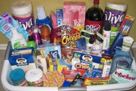 gift baskets for college students make a basket for college students new or a wedding gift