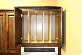 cookie sheet cabinet divider kitchen cabinet dividers cookie sheet cabinet divider full size of