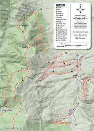 Valley Of Fire State Park Map by Greenbelt Trails Angel Fire Resort
