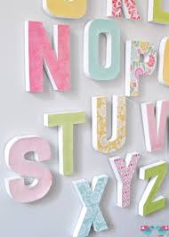 Paper Mache Home Decor by How To Make Your Own Letter Wall The Love Nerds