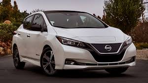 nissan minivan 2018 nissan leaf sv 2018 us wallpapers and hd images car pixel