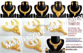 gold plated necklace wholesale images Indian wholesale gold plated pendant set south indian pendant set jpg