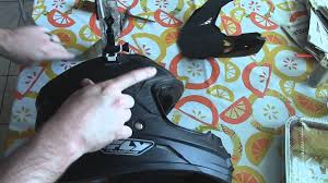 motocross helmet with face shield how to change the face shield on a fly dual sport helmet youtube