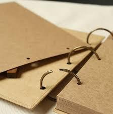 scrapbook binder online shop a4 ring binder photo album kraft scrapbook wedding