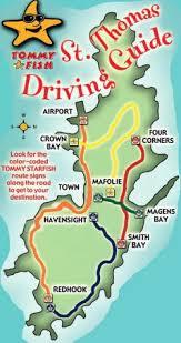 road map of st usvi 49 best travel us islands images on caribbean