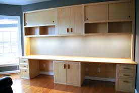 Kitchen Desk Cabinets Inspiration 80 Office Desk With Cabinets Decorating Design Of