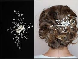 pearl hair accessories tutorial hair pearl hair pin hair comb accessory hair vine