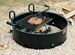 custom fire rings images Fire rings bumper pits murphy 39 s custom bbq barbecue pits jpg