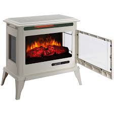 shop mr heater 25 in w 5 200 btu creme metal flat wall infrared