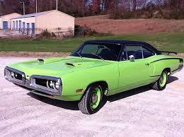 Cool Muscle Cars - the appeal of american muscle cars