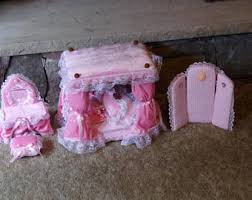barbie canopy bed etsy