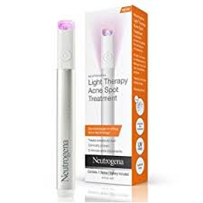 neutrogena light therapy acne spot treatment review amazon com neutrogena light therapy acne spot treatment beauty
