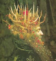 the king winter solstice celebration