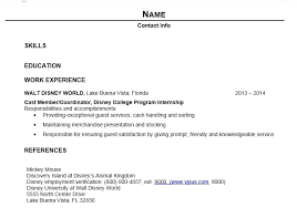 resume exles for college internships in florida writing your dcp resume elly and caroline s magical moments