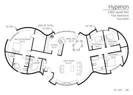 floor plan dl 4021 monolithic dome institute