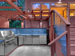 Backyard Kitchen Design Ideas Choosing Outdoor Kitchen Cabinets Hgtv