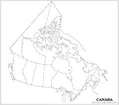 canada blank map canada blank map
